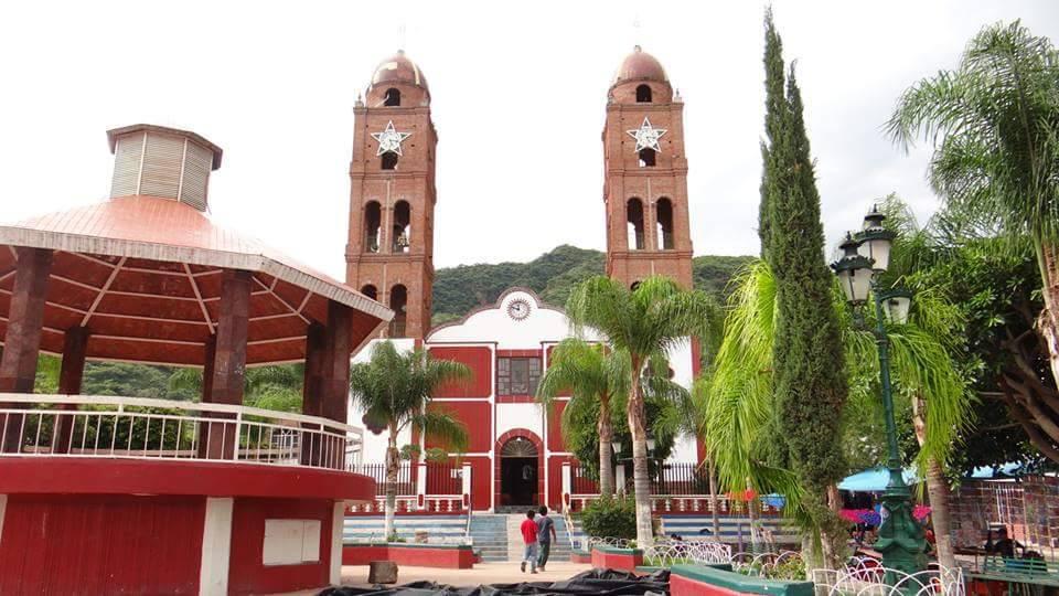 Plaza principal de Mezcala. Fotografía: Jessica Padilla.