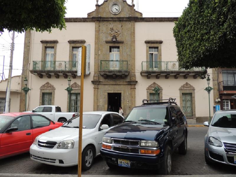 Presidencia municipal de Ocotlán, Jalisco.