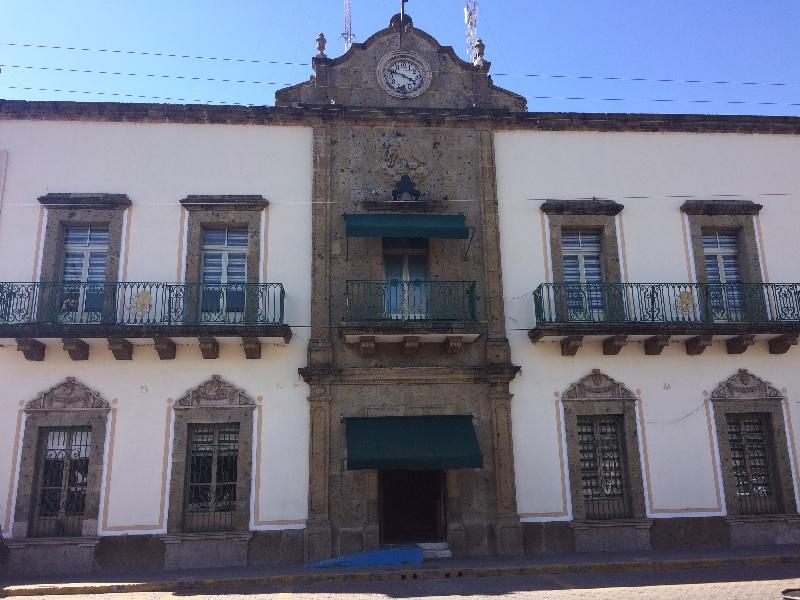 Presidencia municipal de Ocotlán. Foto: Decisiones.