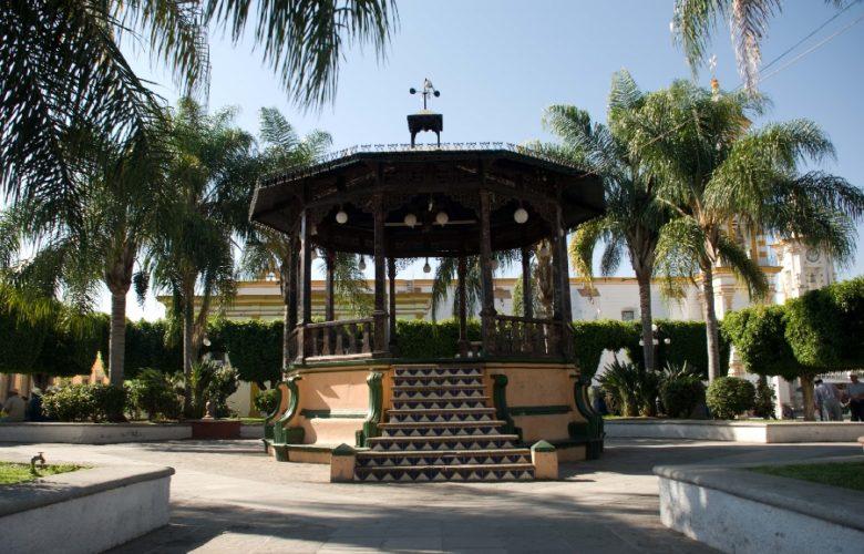 Plaza San Gabriel, Jalisco. Foto: Gobierno Jalisco.