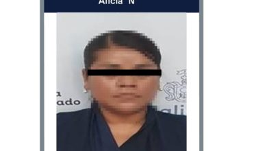 Detenida por abuso sexual. Foto: Fiscalía.
