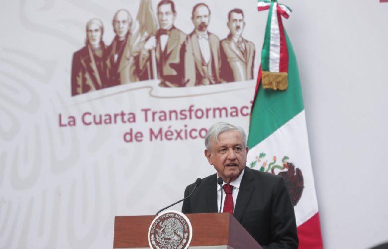 AMLO, informe 100 días. Foto: Gobierno de México.