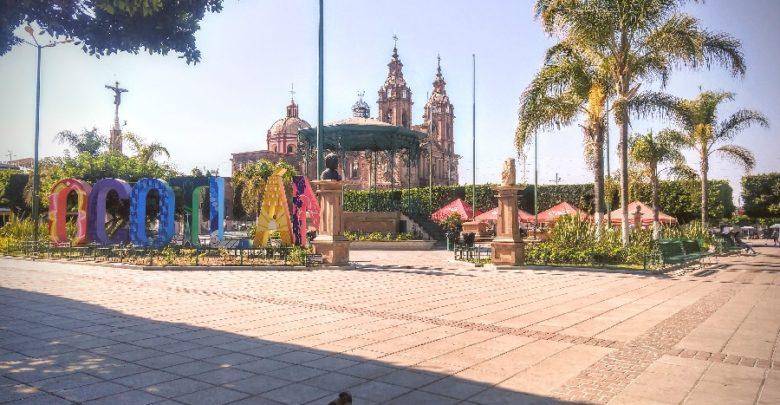 Plaza principal de Ocotlán, Jalisco. Foto: Decisiones.