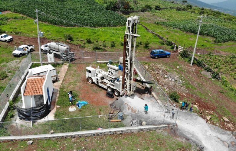 Perforan pozo en San Pedro Itzicán. Foto: Cortesía.