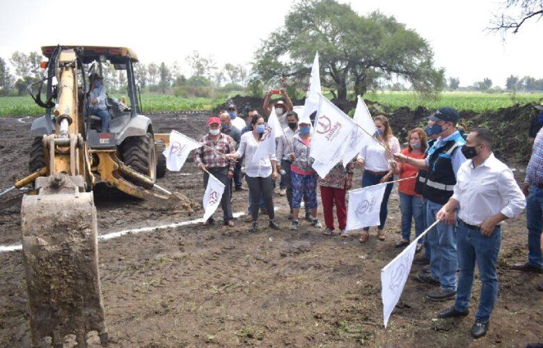 Construyen PTAR en San Miguel de la Paz. Foto: Cortesía.