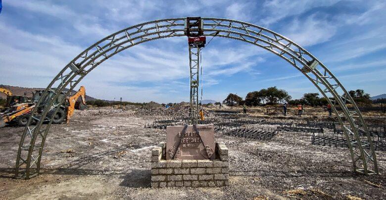Colocan primera piedra del Hospital General Regional de Ocotlán. Foto: Gobierno de Jalisco.