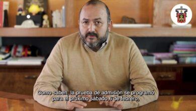 Ricardo Villanueva Lomelí, rector general U. de G. Foto: Captura video.