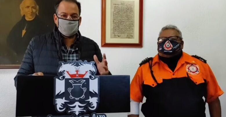 Cruz Carrillo Solís, alcalde de Atotonilco el Alto. Foto: Captura video Facebook.