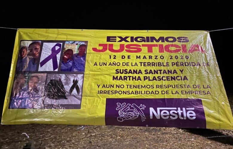 Exigen justicia por incumplimiento de Nestlé. Foto: Internet.
