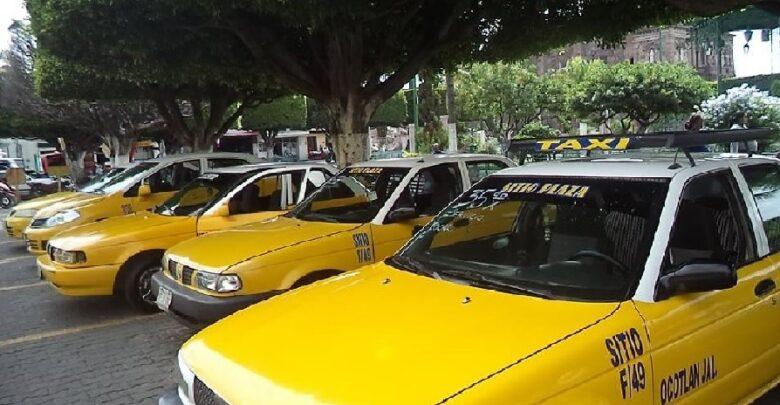 Taxis Ocotlán. Foto: Archivo Decisiones.