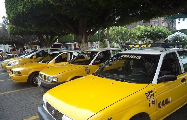 Taxis Ocotlán. Foto: Archivo Decisiones.
