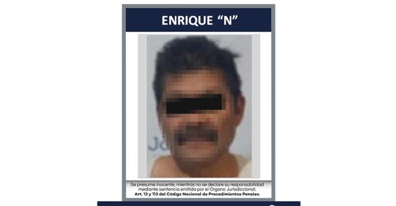 """Enrique """"N"""". Foto: Fiscalía."""