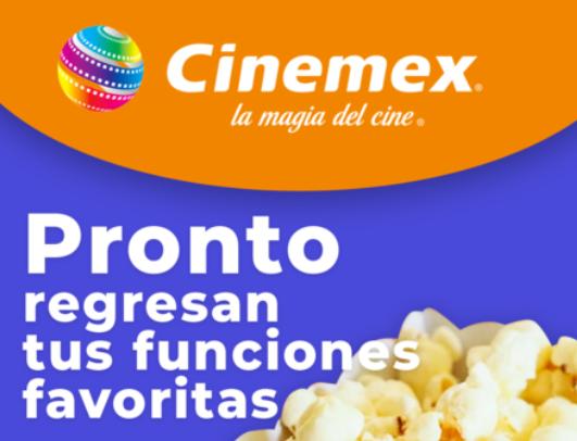 Regresa Cinemex Ocotlán. Foto: Facebook.