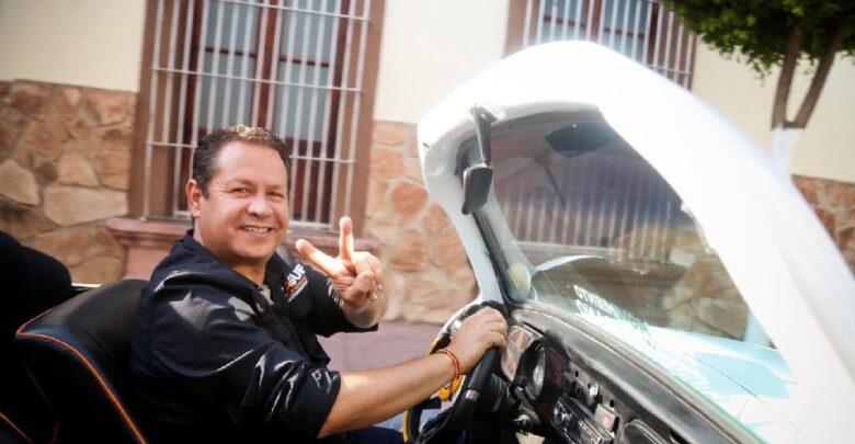 Hernández, candidato de MC a la diputación federal por el Distrito 15. Foto: Facebook.
