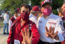 Juan Manuel López Villanueva, candidato de Morena, informa anomalías. Foto: Facebook.