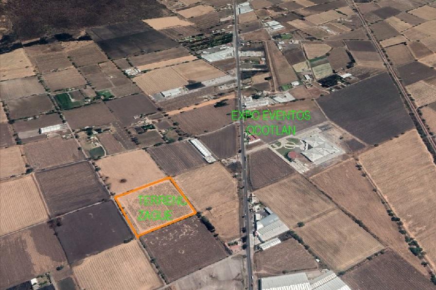 Terreno señalado. Foto: Maps.