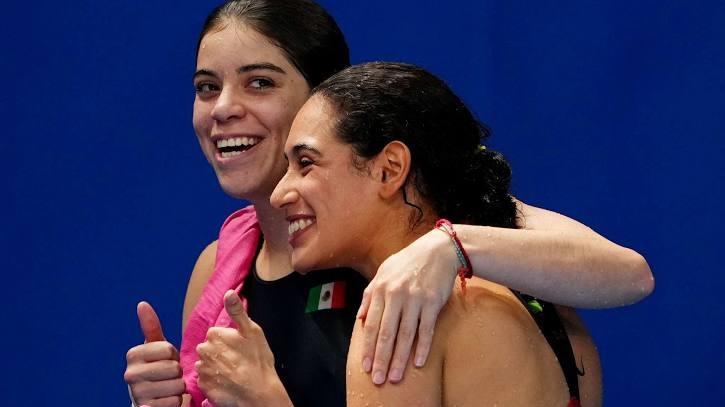 Alejandra Orozco y Gabriela Agúndez consiguen medalla de bronce. Foto: Internet.