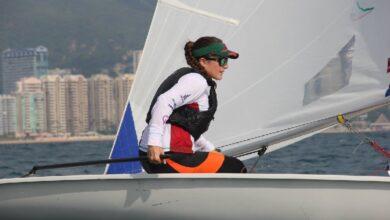 Elena Oetling Ramírez, velerista chapalense. Foto: Internet.