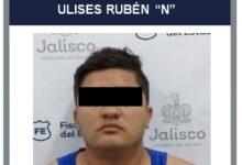 """Ulises Rubén """"N"""", detenido. Foto: Fiscalía."""