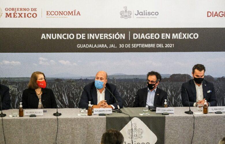 Invertirá DIAGEO 500 mdd en Atotonilco el La Barca
