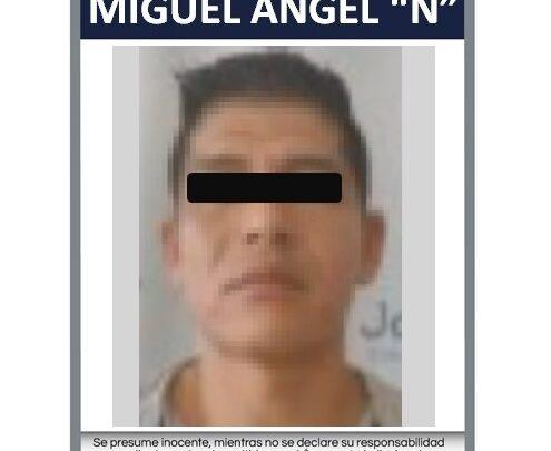 """Miguel Ángel """"N"""". Foto: Fiscalía."""